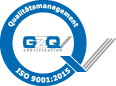 QM-System ISO 9001:2015 certified